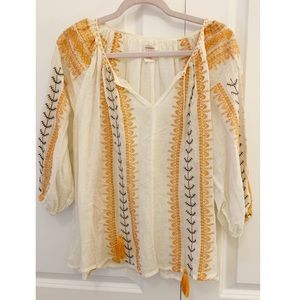 Sundance Embroidered Tassel Tunic